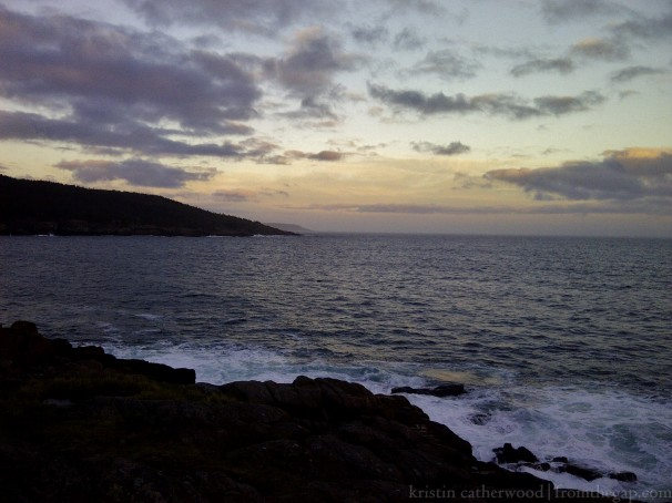Somewhere in Newfoundland, I can't remember where. November 2, 2012.